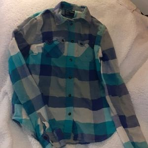 American Eagle Favorite Fit Plaid Longsleeve